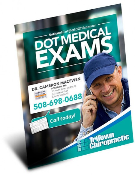 NOW OFFERING MASS DOT CDL MEDICAL EXAMS